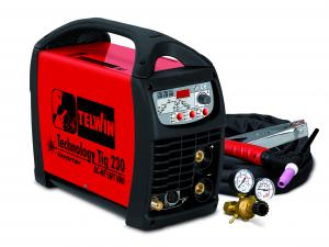 Telwin TECHNOLOGY TIG230 DC-HF/LIFT VRD 230V с аксессуарами